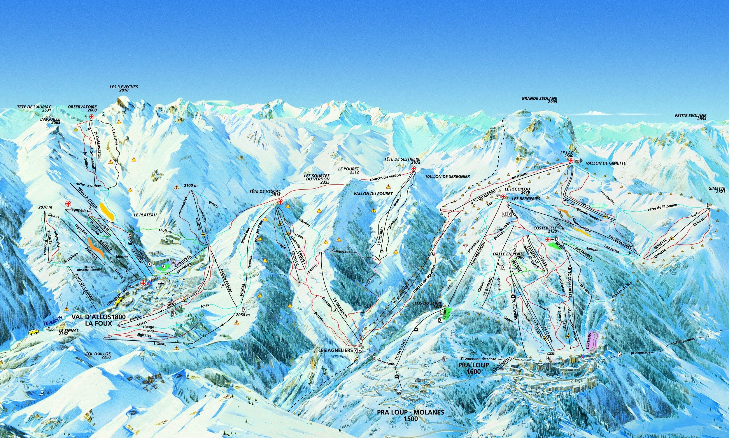 Pra Loup / Val d Allos