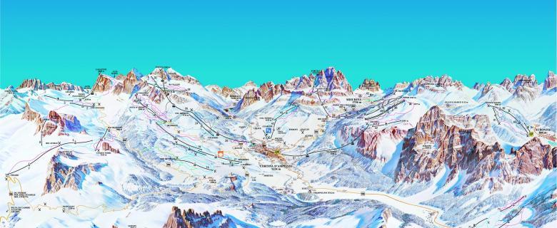 Lyžařské zájezdy Cortina d Ampezzo