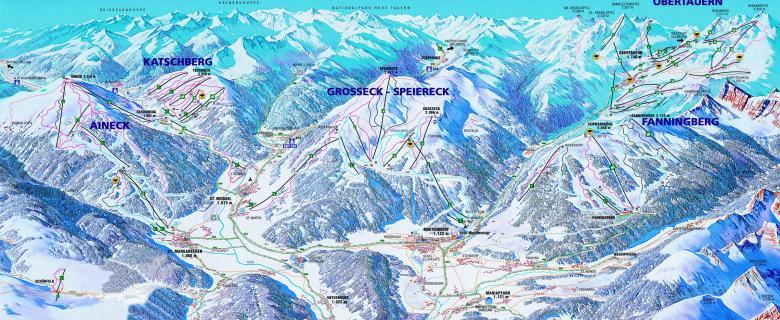 Lungau lyžování