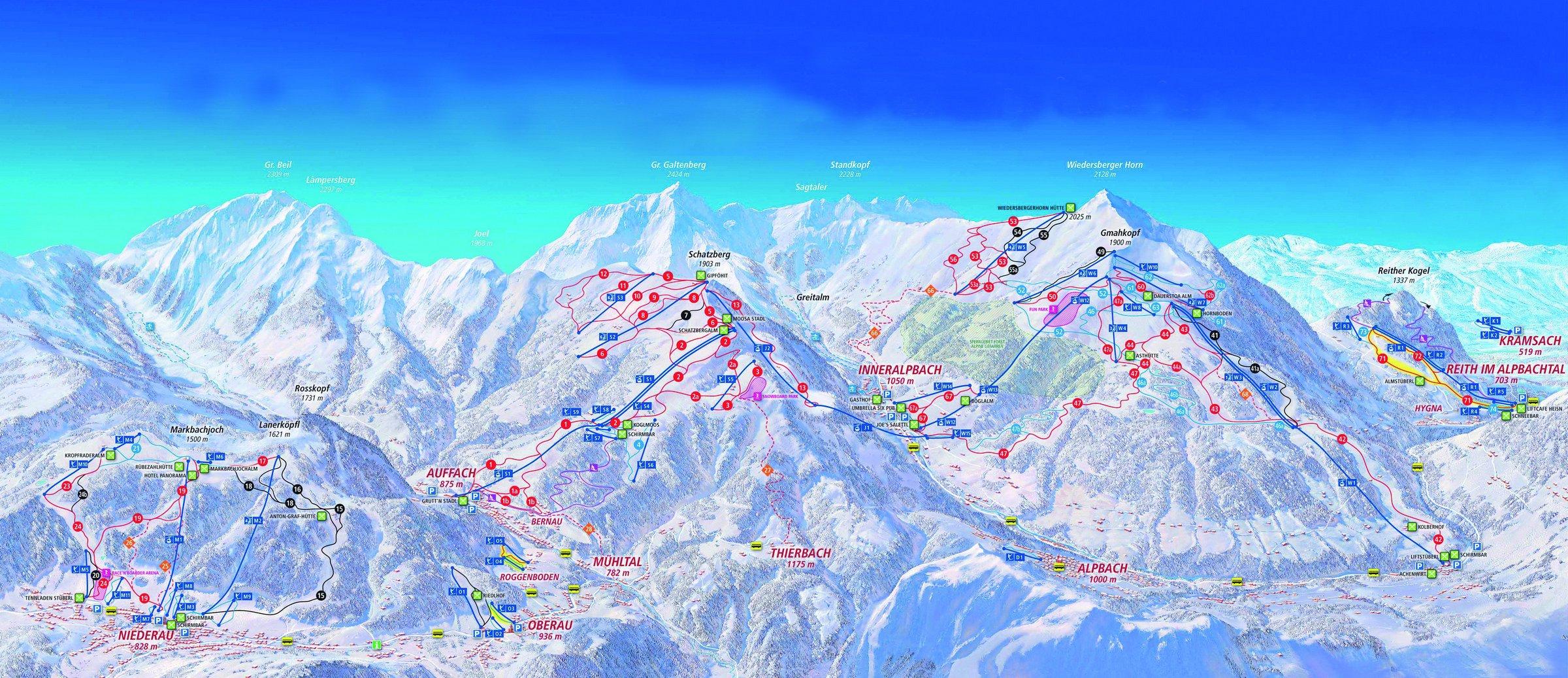 Ski Juwel - Alpbachtal Wildschönau